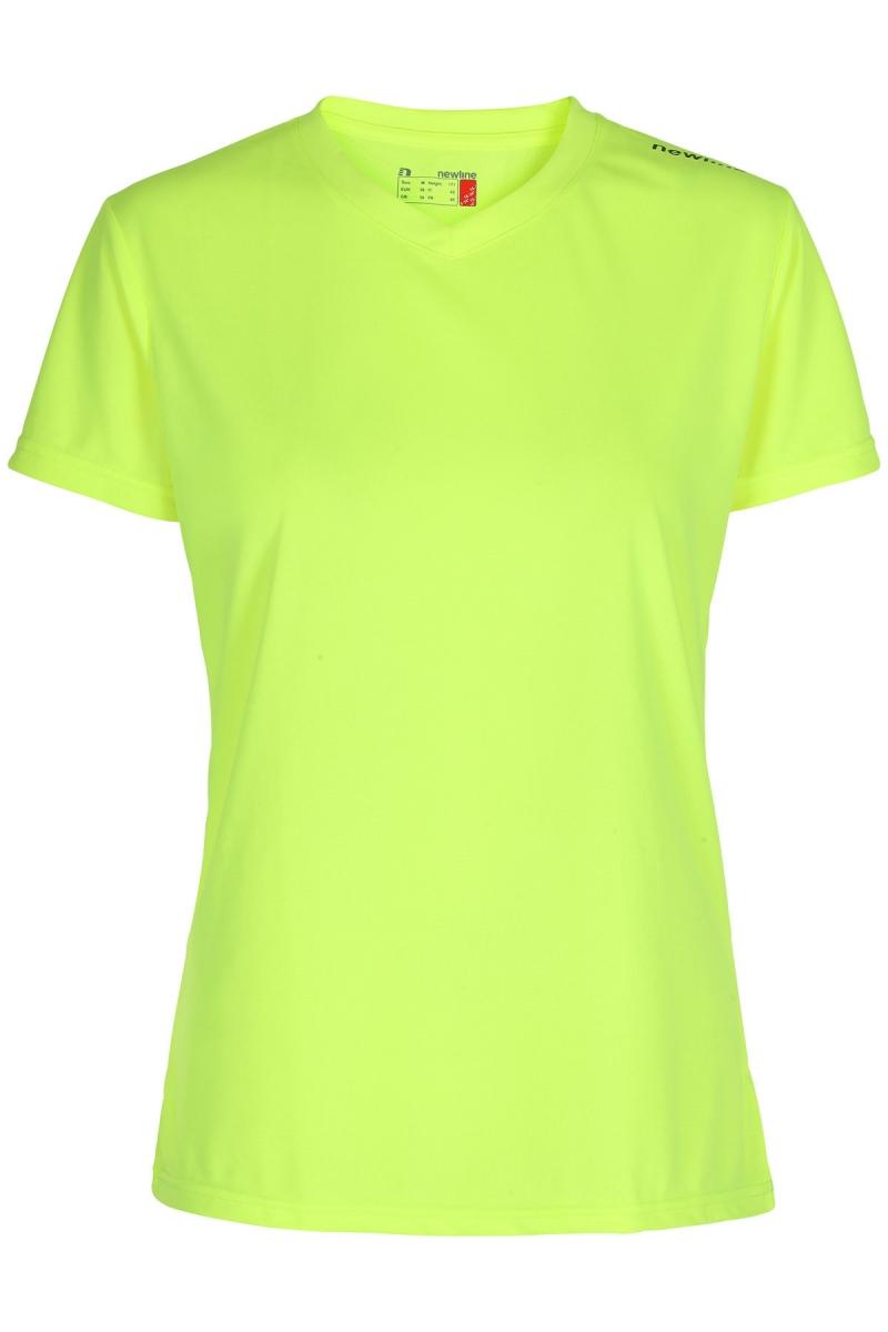 Base Cool Tee Neon Yellow