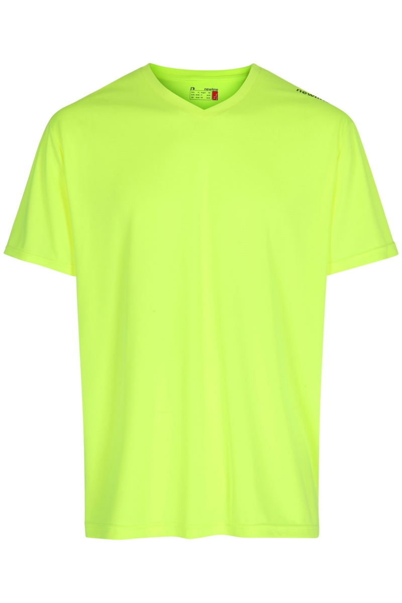 Base Cool Tee Neon Yellow