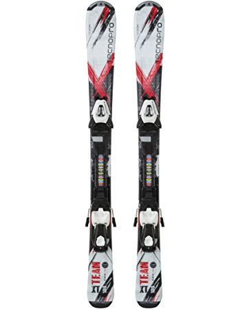 Ski-Set XT Team ET Jr. + ETC45/ETL75 BLACK/BLACK