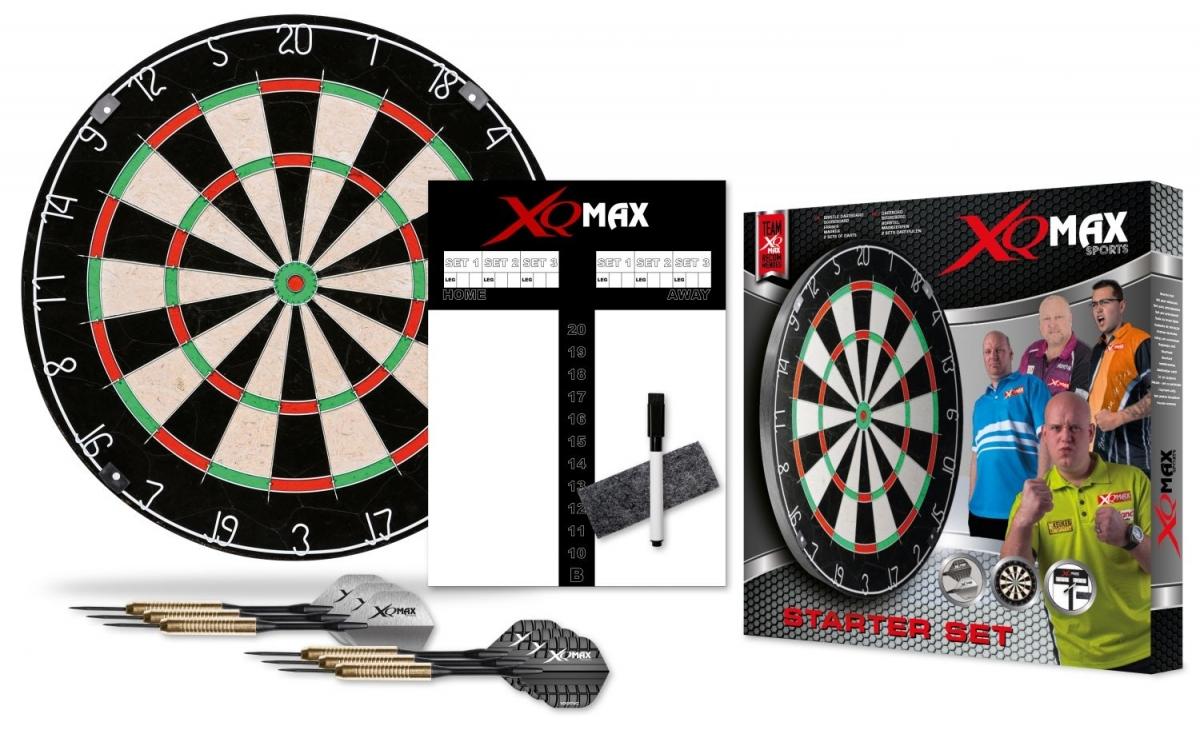 XQ-Max MvG Bristle Dart Board Classic Set DIVERSE DESIGNS