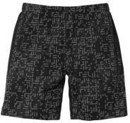 LITE-SHOW 7IN SHORT LITE STRIPE PERFORMANCE BLACK