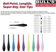 BULL'S Longlife Long 6mm(2BA)& 8mm(1/4BSF) ROT
