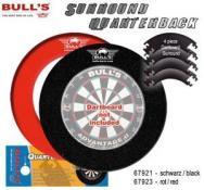 BULL'S Quarterback EVA Dart Board Surround SCHWARZ