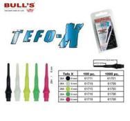 BULL'S Tefo-X Soft Tips (2BA) SCHWARZ