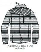 MAN SHIRT ANTRACITE-BIANCO