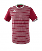 ROMA jersey shortsleeve bordeaux/white