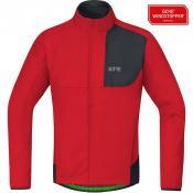 GORE® C5 GORE® WINDSTOPPER® Thermo Trail Jacke red/black