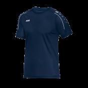 T-Shirt Classico marine/weiß