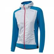 W HOODED LIGHT HYBRIDJACKET sea blue