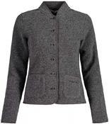 TshogdeM. Woolsweat Jacket 7096-grey melange