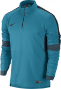SQUAD IGNITE LS MIDLAYER NEO TURQ/NEO TURQ/(BLACK BLUE)