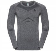 SUW TOP Crew neck l/s PERFORMA grey melange