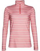 DONNA 1/4 zip top Think Pink
