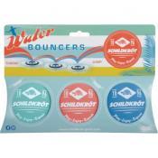 NEOPREN WATER BOUNCERS  (3 Stück im Kartonhänger), Keine Farbe