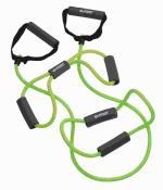 SK Fitness Expander Set 3-teilig, (green-grey) im Meshbag Keine Farbe