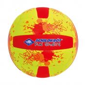 NEOPREN MINI-BEACHVOLLEYBALL, G2, neon-gelb/rot, Keine Farbe