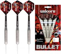 Unicorn Bullet Gary Anderson Steel Darts FARBIG SILBER