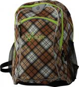 Wheel Bee BACKPACK, Design: Brown, LED-stripes green, Keine Farbe