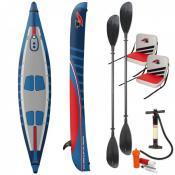 F2 I-SUP Kayak incl. Two Seats, Paddle 0