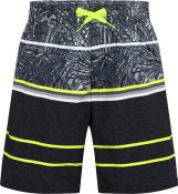 Ju.-Badeshorts Karim jrs ATOMIC BLUE-SAFETY YELLOW