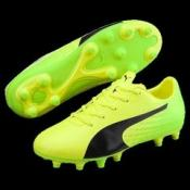 evoSPEED 17.5 FG Jr PUMA BLACK