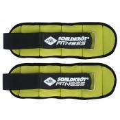 SK Fitness GEWICHTSMANSCHETTE, 2x 0,5kg, (green) im Carrybag Keine Farbe