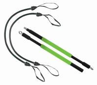 SK Fitness GYMNASTIK STICK (Set mit Stick+ 2 Linear Expander Keine Farbe