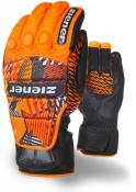 GRIB glove race poison orange