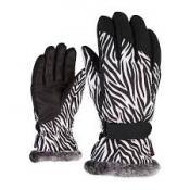KIM lady glove wild zebra print