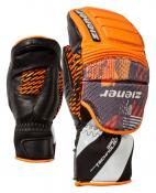 LOCKPORT MITTEN JUNIOR glove race poison orange