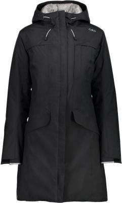 WOMAN JACKET FIX HOOD NERO