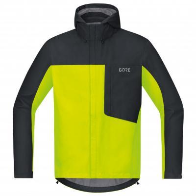 C3 GTX Paclite Hooded Jacket neon yellow/black