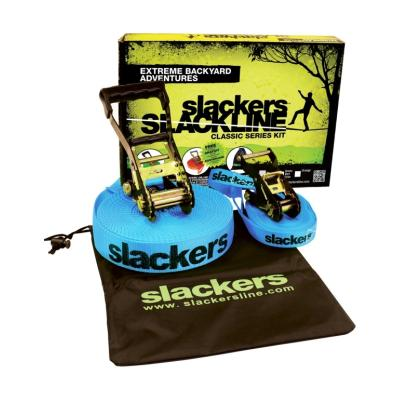 SLACKERS Slackline CLASSIC 15m, inkl.Teaching Line Keine Farbe